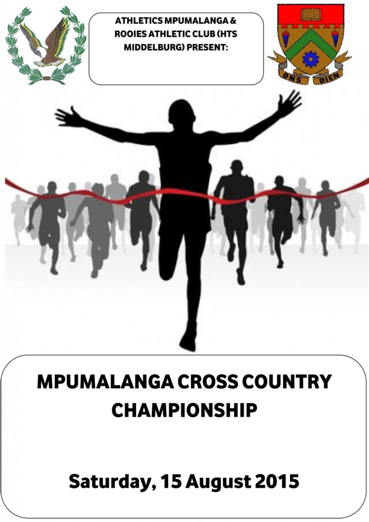Mpumalanga Cross Country Championships 2015_ Mpumalanga Program- Final-1