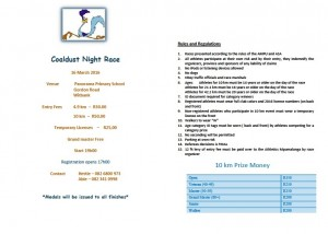 Coaldust Night Race