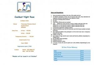 Coaldust Night Race