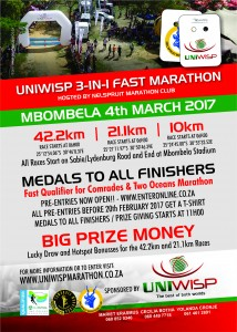 UniWisp 3IN1 Marathon Entry Form 2017 A