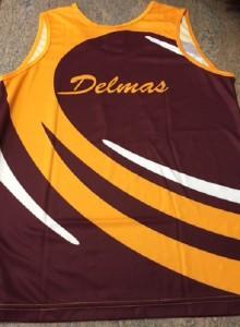 Delmas back