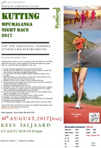 Kutting Mpu Night Race 2017 Flyer - Final