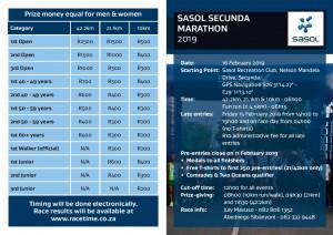 Sasol Marathon Club - 1