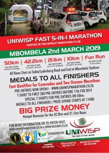 UniWisp 5IN1 Marathon Entry Form 2019 A