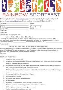 Rainbow Race - A5 advert Back JPG